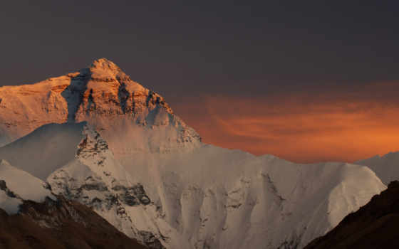 everest, mount, кликабельно, china, горы, снег, top, небо, nepal,