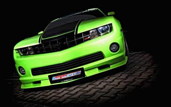 тюнинг, машины, chevrolet, camaro, зелёный, камаро, orlando, авто, драйв,