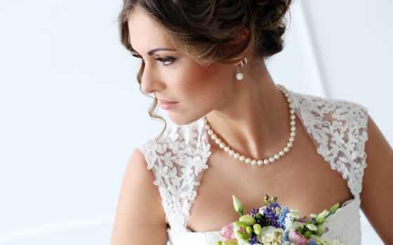 макияж, букет, свадебный