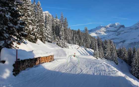 швейцария, winter, снег, mountains, trees, природа, seasons, uri, spiringen, лес,