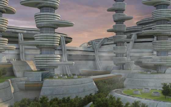 будущее, architecture, город, pinterest, sci, desktop,