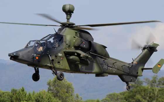 тигр, военный, вертолет, полет, картинка, shock, ultra, авиация,