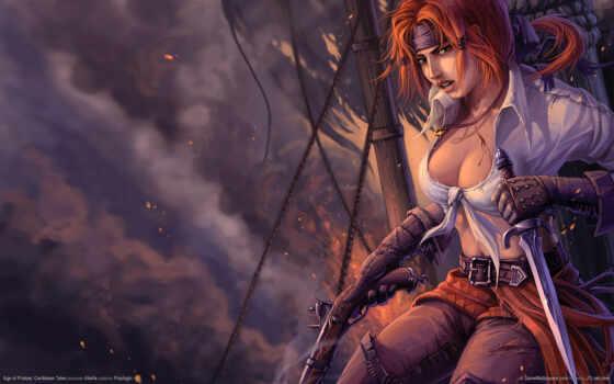 пират, девушка