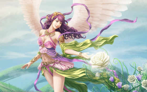 lotus, anime, hintergrundbilder, fondos, rosas, angel, blume, engelsflügel, alas, rosen, flores, best, pantalla,