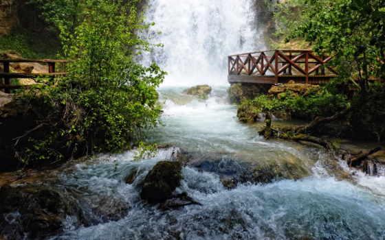 serbia, природа, водопады