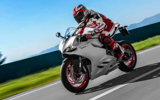ducati, panigale, мотоцикл, superbike, обзор,