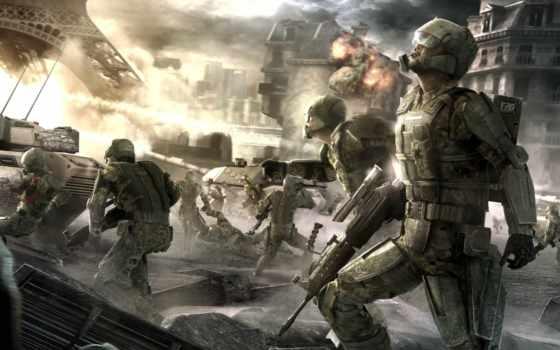 war, игры, tom, пистолет, clancy, парень, more,