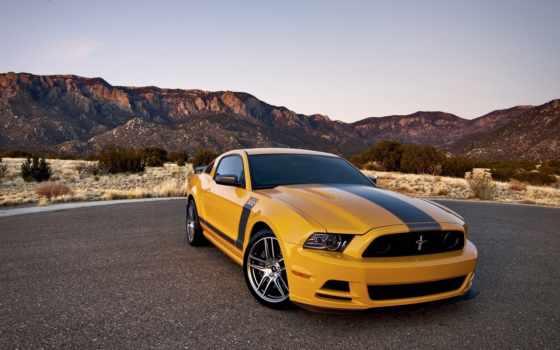 mustang, ford, автомобили, amber, авто, фотографий, boss, машины,