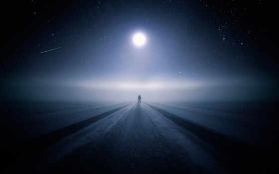 ночь, одиночка, дорога, human, wallpapersafari, луна, планшетный, mobile, ключ, traktat
