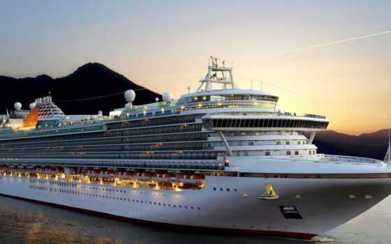 cruise, лайнер, река, costa, пассажирский, декабрь