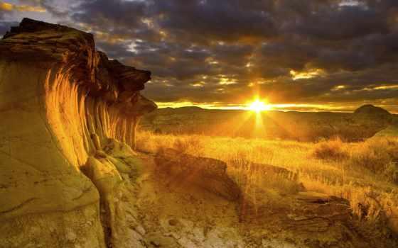 природа, качества, высокого, природы, высокое, закат, bora,