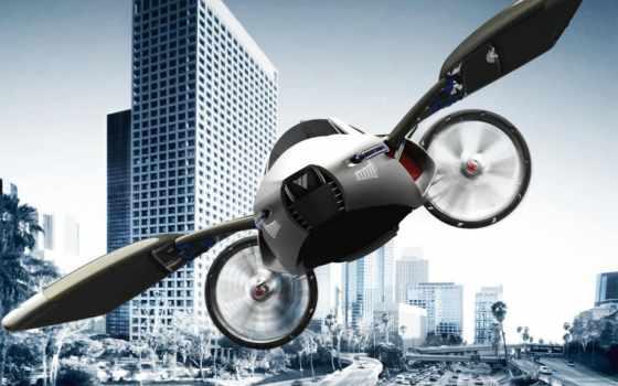 летающие, машины, будущего