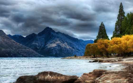 parede, natureza, papel, imagens, lago, lindas, fotos,