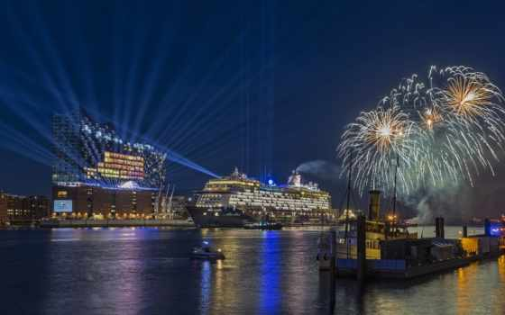 hamburg, new, goodfon, год, happy, fireworks, фон, германия, pictures,