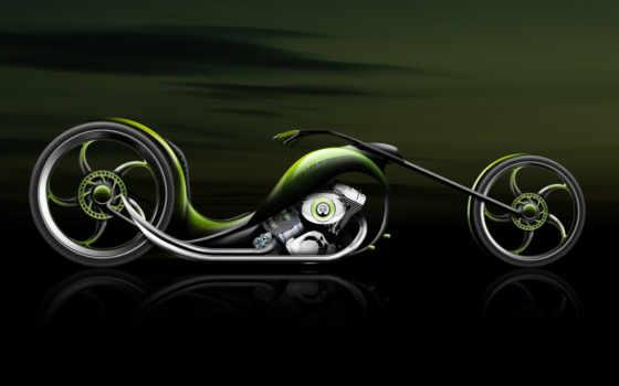 мотоцикл, байк, графика