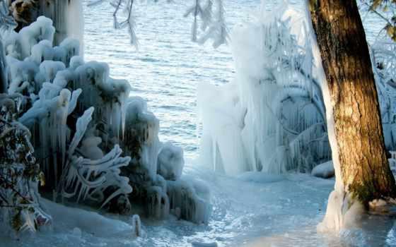 winter, earth, лед, последний, this, covers,
