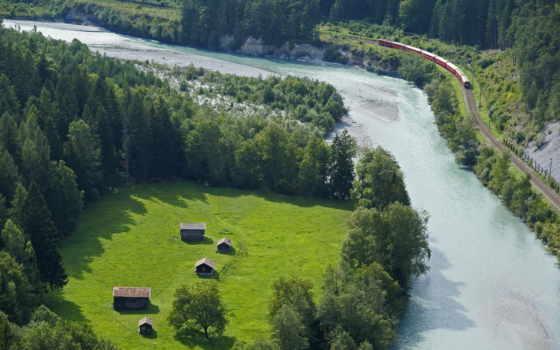 güzel, dünyanın, world, nehir, река, trees, дорога, landscape,