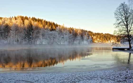 winter, морозный, telemark, high, desktop, ulefoss, fylke, christmas,