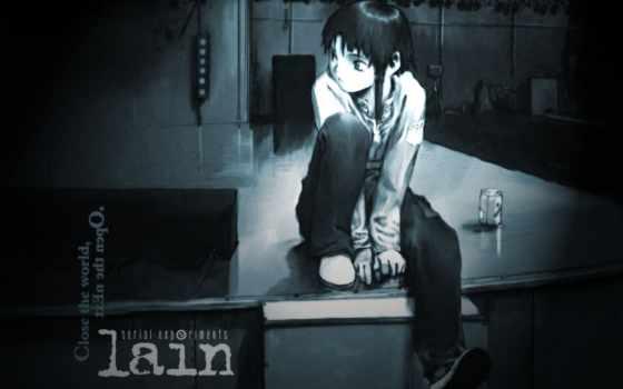 ложь, serial, эксперимент, anime