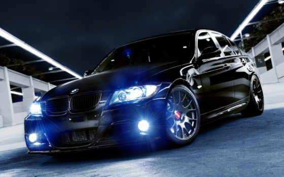 обои, bmw, бмв, черная, авто, автомобили, высоком,