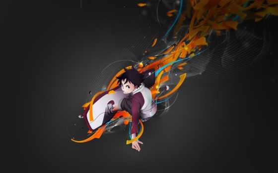 аниме, арт, eureka, seven, skateboarding, смотрите, anbuu,