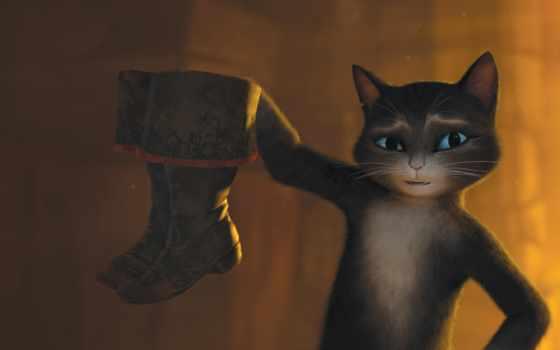 сапогах, кот, puss