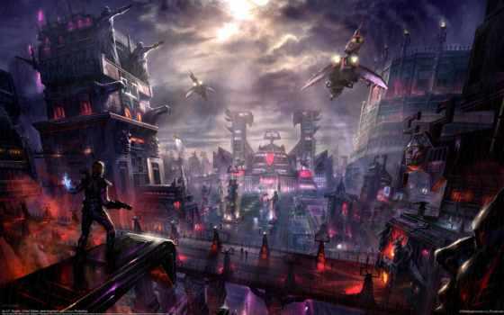 город, будущего, будущее