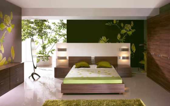 спальня, минимализм