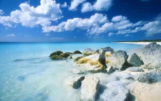 tropics, пляж, бесплатные, красивые, банка, пляже, монитора, широкоформатные, качественные,