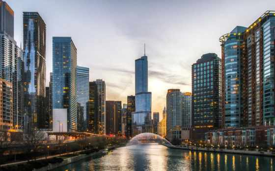 chicago, evangelia, телефон, amerika, linkedin, здания, американский, duvar,