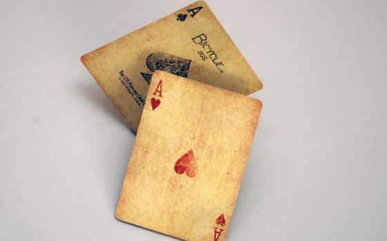 широкоформатные, спорт, покер, тузы, сочетание, фишки, азарт,