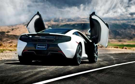 mclaren, cars, car, rear, суперкар,