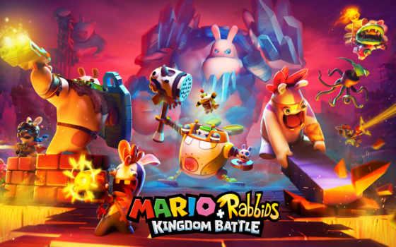 игры, kingdom, битва, марио, rabbids,