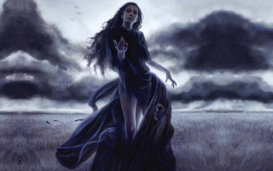 witch, девушка, женщина, fentezti