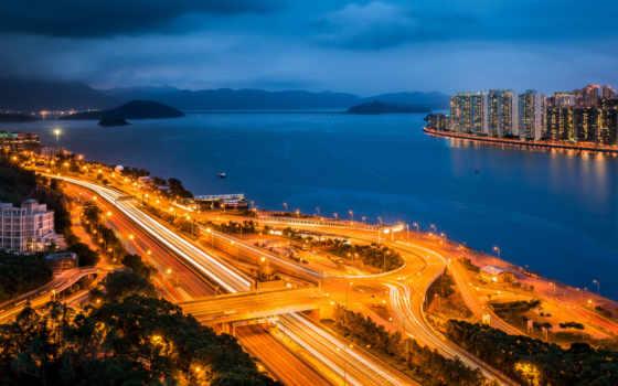 гавань, china, город