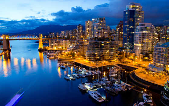vancouver, города, канада