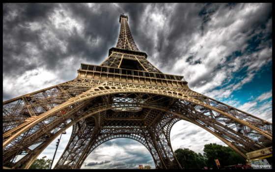 turret, эйфелева, париж Фон № 101205 разрешение 1920x1200