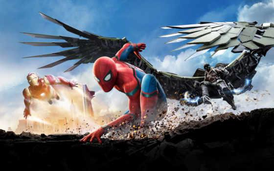 паук, мужчина, домой, return, homecoming, marvel, фильмов,