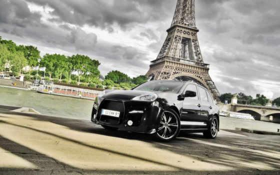 париж, черный, башня