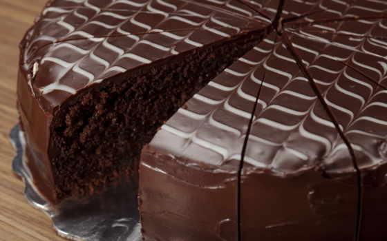 chocolate, торт, глазурь