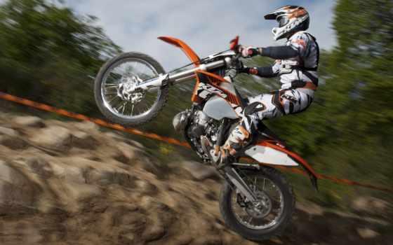 ktm, exc, мотокросс, мотоцикл, скорость, авто, мотоциклы, free,