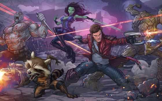 стражи, галактики, marvel, енот, guardians, galaxy, ракета, супергероев, комиксов, comics, команда,