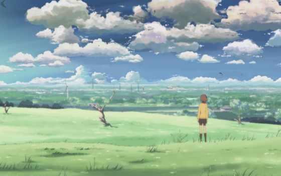 аниме, сантиметров