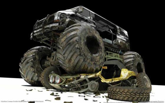 motorstorm, truck