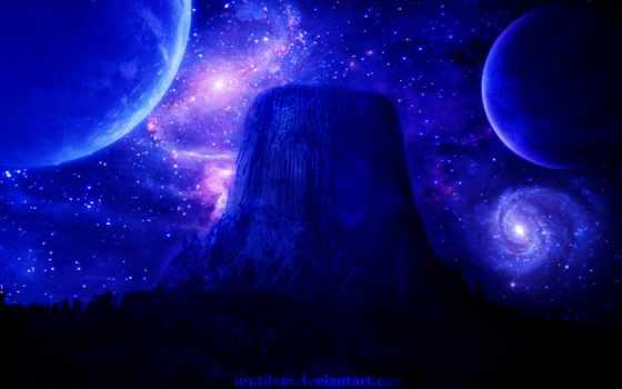 fondos, galaxy, космос