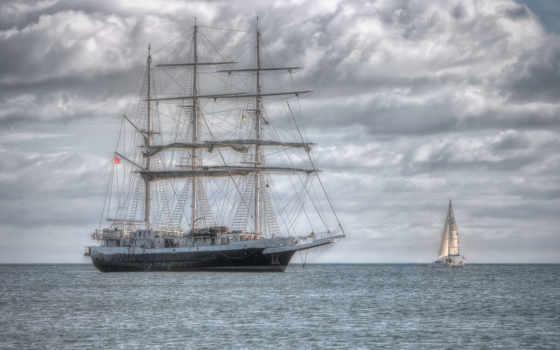 паруса, море, ships, pinterest, парусник, sailboat, корабль, горизонт, мачты, ocean, красивые,