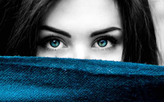 blue, eyes, black, white, free, девушка, фото, stock, женщина, color,