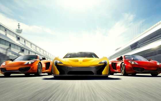 авто, спортивные, фотообои, спортивная, движении, автомобили,