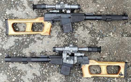 оружие, всс