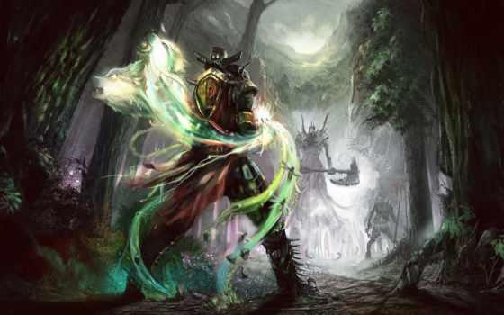 дуэль, art, concept, меч, оружие, voin, elder, щит, scrolls, воин,